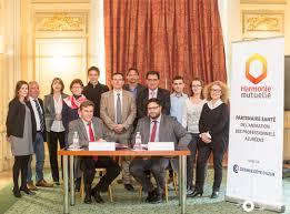 mutuelle des chambres de commerce et d industrie renouvellement du partenariat avec harmonie mutuelle cci