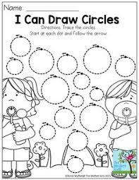 snapshot image of clown tracing circles worksheet circ