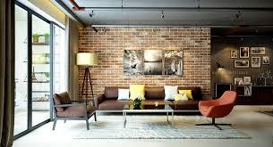 Fake Exposed Brick Wall Brick Interior Wall Ideas Diy Best Attractive Home Design