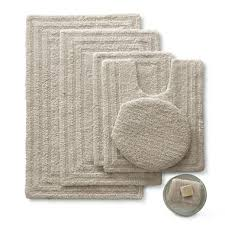 Jc Penney Bathroom Rugs Linden Street Cotton Reversible Bath Rugs Jcpenney Home