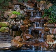 Backyard Water Falls by Best 25 Pond Waterfall Ideas Only On Pinterest Diy Waterfall
