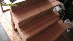 3 types of wood stair treads made from 2x lumber youtube