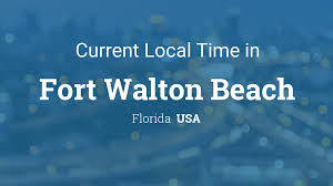Florida Panhandle Beaches Map by Current Local Time In Fort Walton Beach Florida Usa
