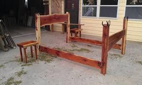 Log Queen Bed Frame Log Bed Frames On Queen Size Bed Frame For Epic Cedar Bed Frame