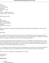 amazing cover letters sles resume cover letter sles photography assistant resumes letters for
