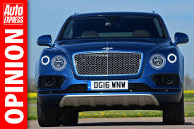 the bentley bentayga is brilliant but at this price it should