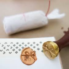 Seal Ribbon Baum Kuchen Wax Seal Stamp U0026quot Mizuhiki Ribbon U0026quot By The