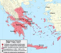 Map Of Ancient Greece Infographics Maps Music And More Visual Quick Study Mycenaeans