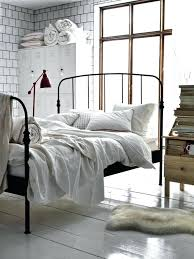 Black Wrought Iron Bed Frame Black Wrought Iron Bed Selv Me