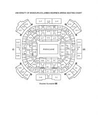 seating charts msa gpc box office university of missouri hearnes center hearnes seating chart