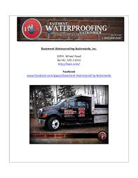 awesome and beautiful basement waterproofing nationwide 2 types of