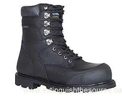 s boot newest canada refrigiwear s titanium leather boot black 9 5 wide us