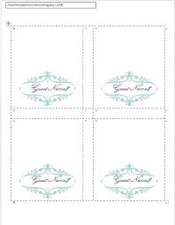 best 25 place card template ideas on printable place