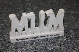 3d resin letters grave ornament memorial