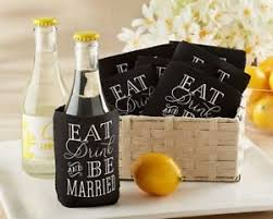 shower koozie 72 eat drink be married collapsible koozie wedding