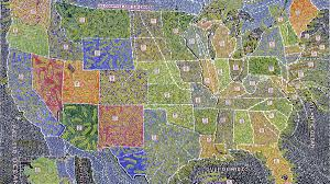 Chicago Illinois Zip Code Map by Color By Number The Gorgeous Obsessive U S Maps Of Paula Scher