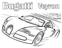 free printable bugatti coloring pages kids