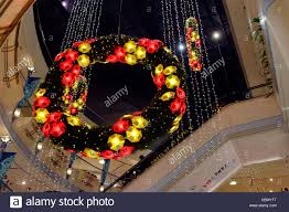 Christmas Decorations Online Singapore illuminated christmas garlands form the decorations for raffles