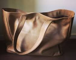 Handmade Leather Tote Bag - leather tote bags tanaandhide