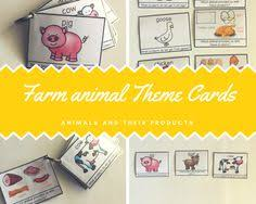 farm animal products cards and more farm animal themed cards and