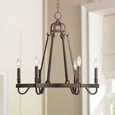 Rustic Candle Chandelier Raymore 23 1 2