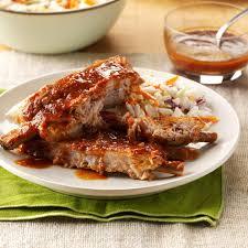 tender u0027n u0027 tangy ribs recipe taste of home