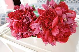 Red Wedding Bouquets Red Wedding Flowers Blue Sky Weddings Maui