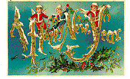new years post cards new year postcards waltspaper