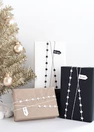 diy star garland gift wrap star garland garlands and wraps