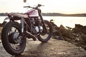 custom honda custom honda cb550 four france moto rivista