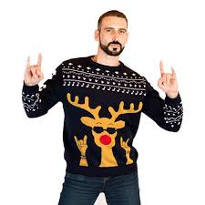 rudolph sweater rudolph s sweater now rockin all the way