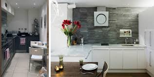 before and after contemporary london kitchen redesign residence