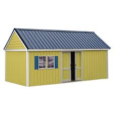 best barns brookhaven 10 ft x 20 ft storage shed kit bhaven1020