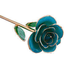 gold dipped roses blue 24k gold dipped steven singer jewelers