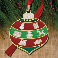2017 wallace bauble 8th edition goldplate u0026 enamel ornament