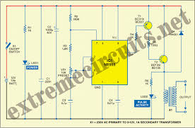 window fence charger circuit diagram