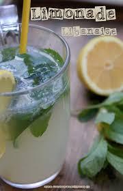 eau de fleur d oranger cuisine limonade libanaise a la menthe et fleur d oranger pinteres