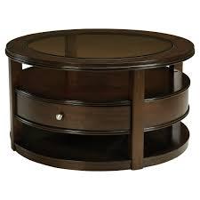 coffee table enchanting dark brown round coffee table dark wood