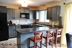 before and after kitchen cabinet painting yeo lab com