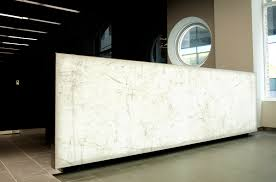 Marble Reception Desk Fenchurch Offices London Spanlite