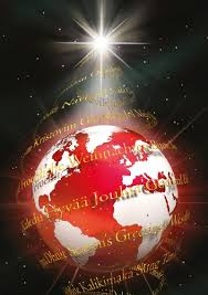 greetings around the world personalised card the