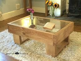 glass coffee table with wood base wood glass coffee table raunsalon com