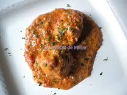 lotte a l armoricaine recette cuisine lotte à l armoricaine les délices de mimm