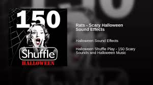 rats scary halloween sound effects youtube
