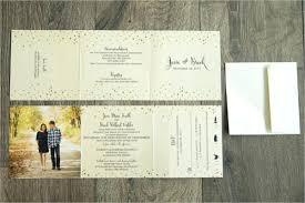 tri fold wedding invitations template tri fold wedding invitations niengrangho info