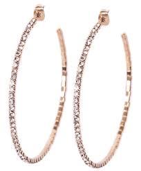 hoop earring tammy spice jewelry rhinestone hoop earring