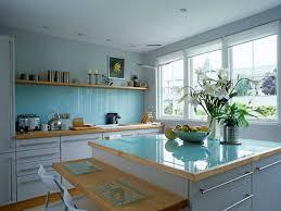 White And Blue Kitchen - 21 modern interior decorating ideas bringing stylish blue color shades