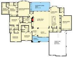House Plans With Media Room Birch River Cottage House Plan 07097 1st Floor Plan Craftsman