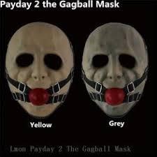 20 pcs lot white horror clown mask halloween masquerade payday2
