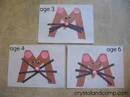 preschool crafts mouse wordblab co